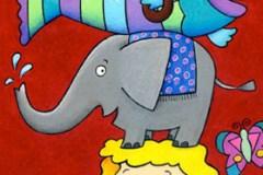 girl-elephant-fish